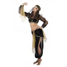 Arabialainen Prinsessa Naamiaisasu