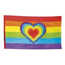Lippu Pride Sydän 90x150 cm