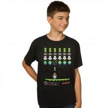 Minecraft Invaders Lasten T-paita