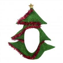 Joulukuusihattu, jossa on Reikä Kasvoille