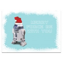 Merry Force be with you - joulukortti