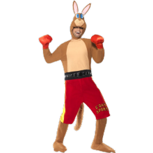 Nyrkkeilevä Kenguru Naamiaisasu