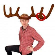 kasta ring på julrenen partylek