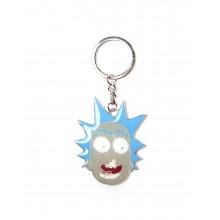 Rick And Morty Avaimenperä Rick Face