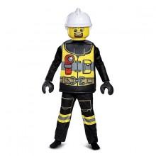 LEGO Palomies Deluxe Lasten Naamiaisasu
