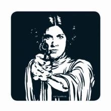 Star Wars Prinsessa Leia Lasinalunen