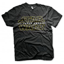 Star Wars The Force Awakens Logo T-Paita