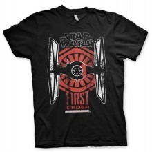 Star Wars First Order Distressed T-Paita