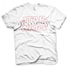 Star Wars The Last Jedi Logo Valkoinen T-paita