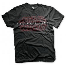 Star Wars The Last Jedi Logo Musta T-paita