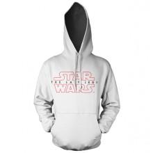 Star Wars The Last Jedi Logo Valkoinen Huppari