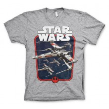 Star Wars Red Squadron T-paita