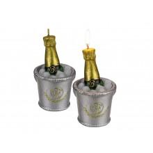 Ljus Champagneflaska På Kylning