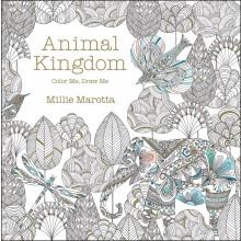 Värityskirja Aikuisille Animal Kingdom