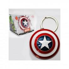 Marvel Captain American Kilpi Avaimenperä