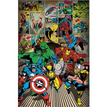 MARVEL COMICS (HERE COME THE HEROES) JULISTE