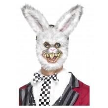 Mask Ond Kanin Vit
