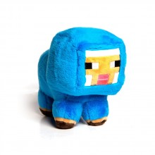 Minecraft Baby Blue Sheep Mjukisdjur