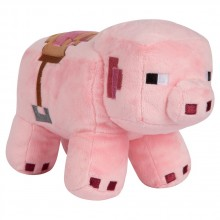 Minecraft Saddled Pig Pehmolelu