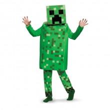 Minecraft Creeper Deluxe Lasten Naamiaisasu