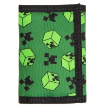 Minecraft Creeper Sweeper Tri-Fold Plånbok