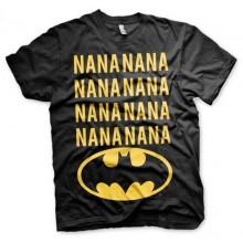 NaNa Batman T-paita Musta