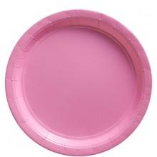 Lautaset Vaaleanpunaiset 8-Pakkaus
