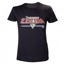 Nintendo Musta Zelda T-Paita