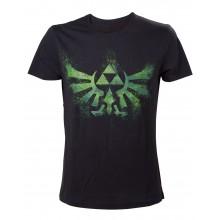 Zelda Green Logo T-Paita