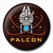Star Wars Badge Millennium Falcon