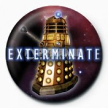 DOCTOR WHO - EXTERMINATE (DALEK) RINTAMERKKI