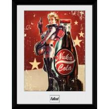 Fallout Nuka Cola Kehystetty Juliste