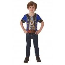 Pirat T-shirt Maskeraddräkt Barn