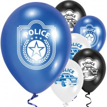 Ilmapallo Poliisi 6-pakkaus