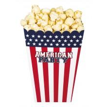 Popcornkulho USA 4-pakkaus