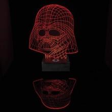 Star Wars Darth Vader 3D Pöytälamppu