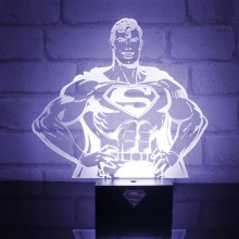 Superman Hero Light