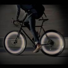LED-lamput polkupyörän renkaaseen