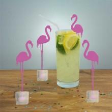 Flamingo cocktailtikku jäällä