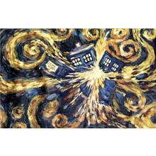 Doctor Who Exploding Tardis Kanvaasi 60 X 80Cm