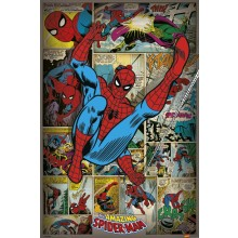 Marvel Comics (Spindelmannen Retro) Juliste