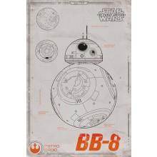 Star Wars Bb-8 Juliste