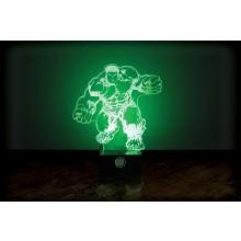 Marvel Hulk Lamppu