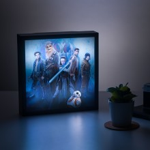 Star Wars 3D Luminart The Last Jedi
