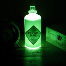 Harry Potter Potion Bottle Lamppu