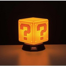 Super Mario Question Block 3D Lamppu