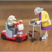 Racing Granny & Grandad