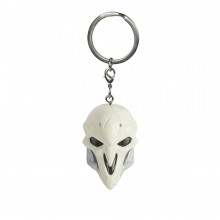 Overwatch Reaper Mask Nyckelring