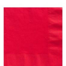 Servetit Punaiset 50-Pakkaus