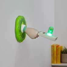 Rick And Morty Portal Gun Lamppu